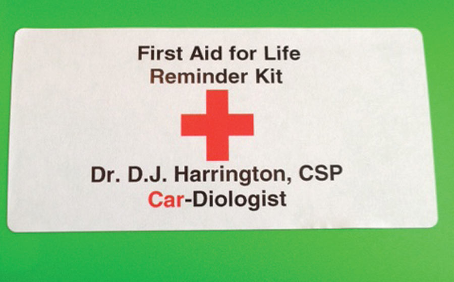 First Aid for Life Reminder Kit