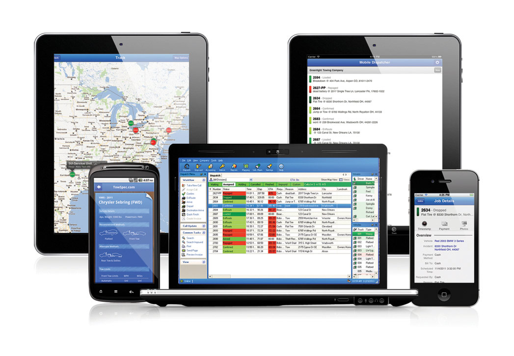Dispatch Anywhere from Beacon Software
