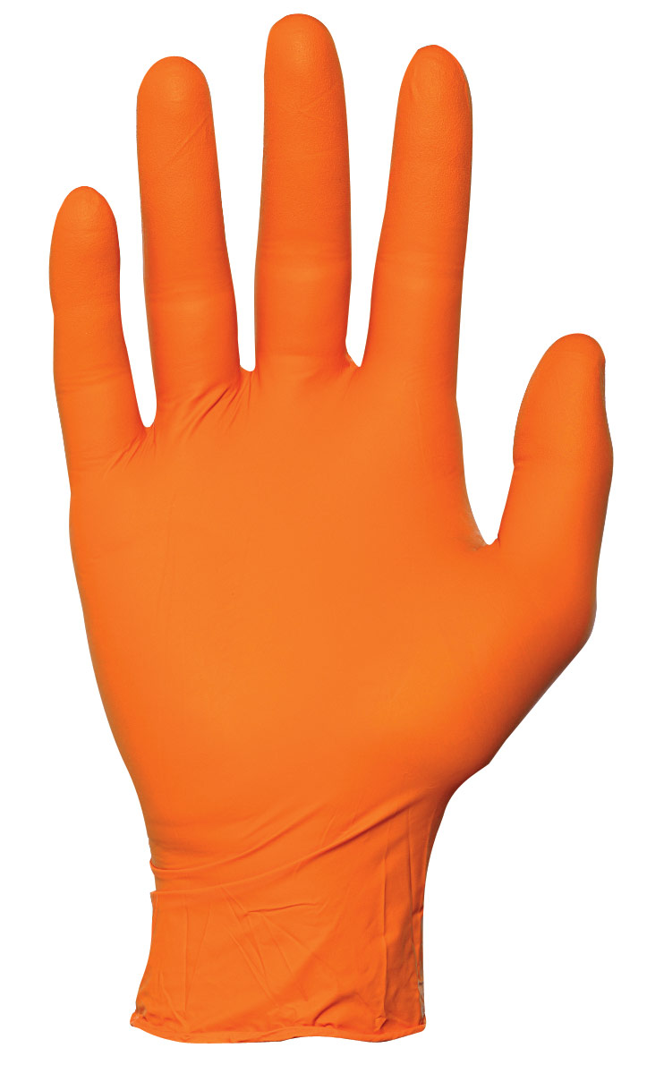 Showa® Hi-Vis Nitrile Gloves