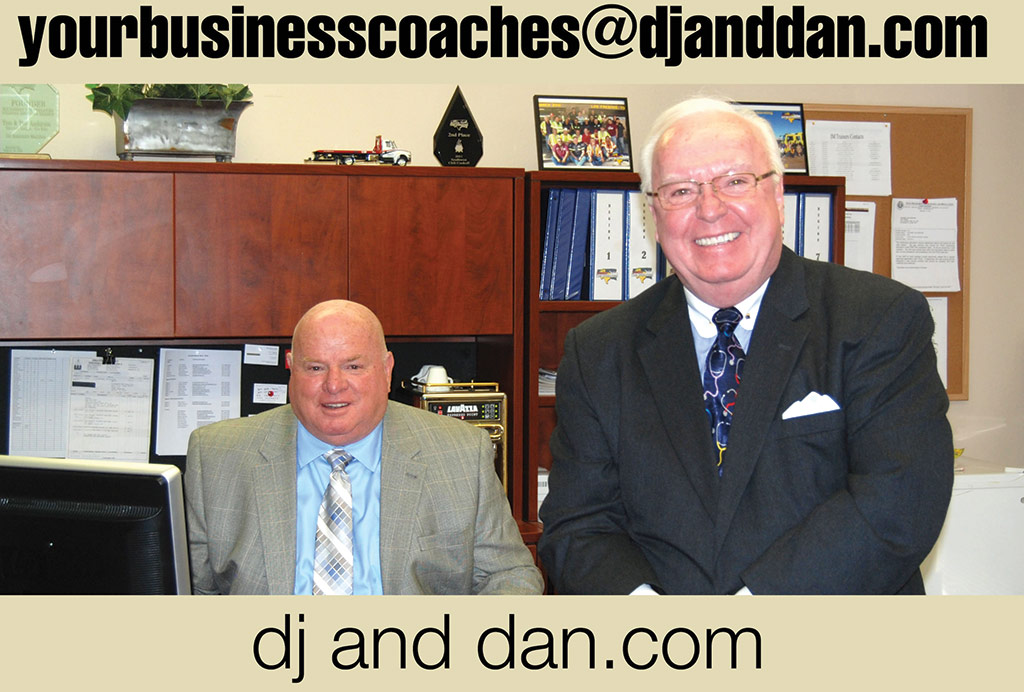 DJ Harrington and Dan Messina