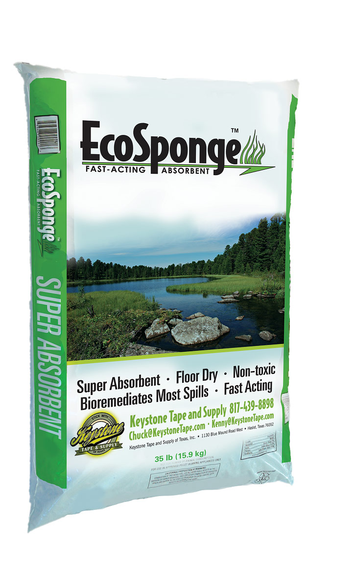 Spill Containment with EcoSponge