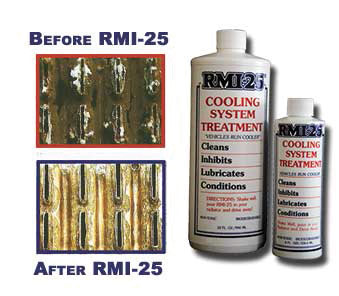 RMI-25 Cleans Your Cooling System