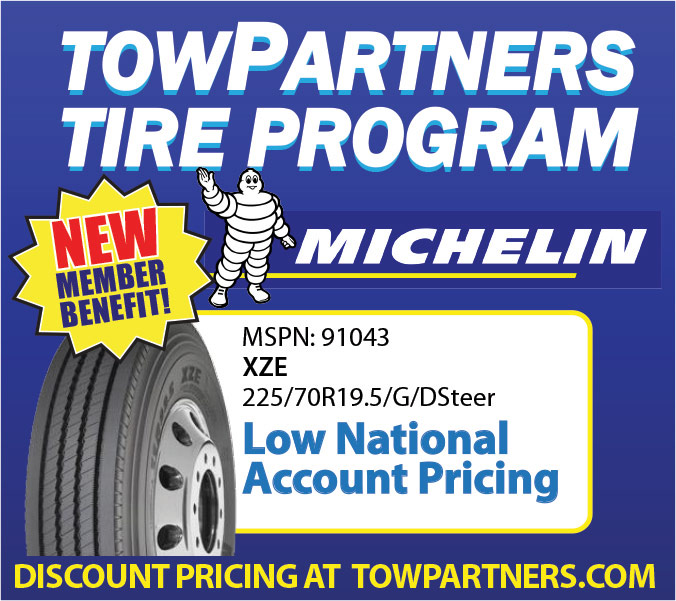 towPartners Joins Forces with Michelin