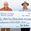 American Towing & Recovery Institute Presented with a Check