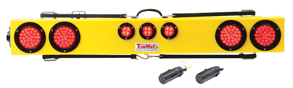 Towmate wireless lightbar with transmitter
