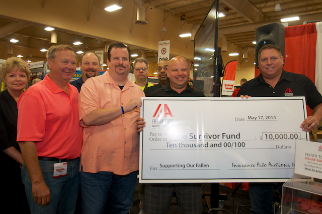 TOWER SURVIVOR FUND RECEIVES $10,000 DONATION FROM IAA