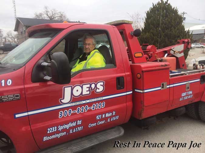 Joe Pedigo President of TRAA passes away