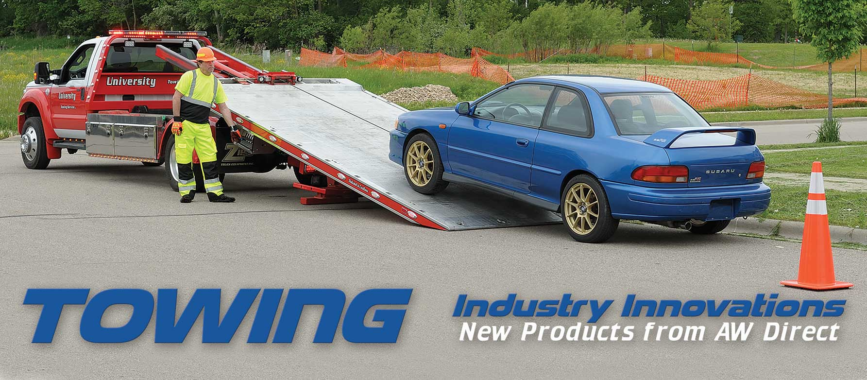 Towing Industry Innovation: New Products from AW Direct