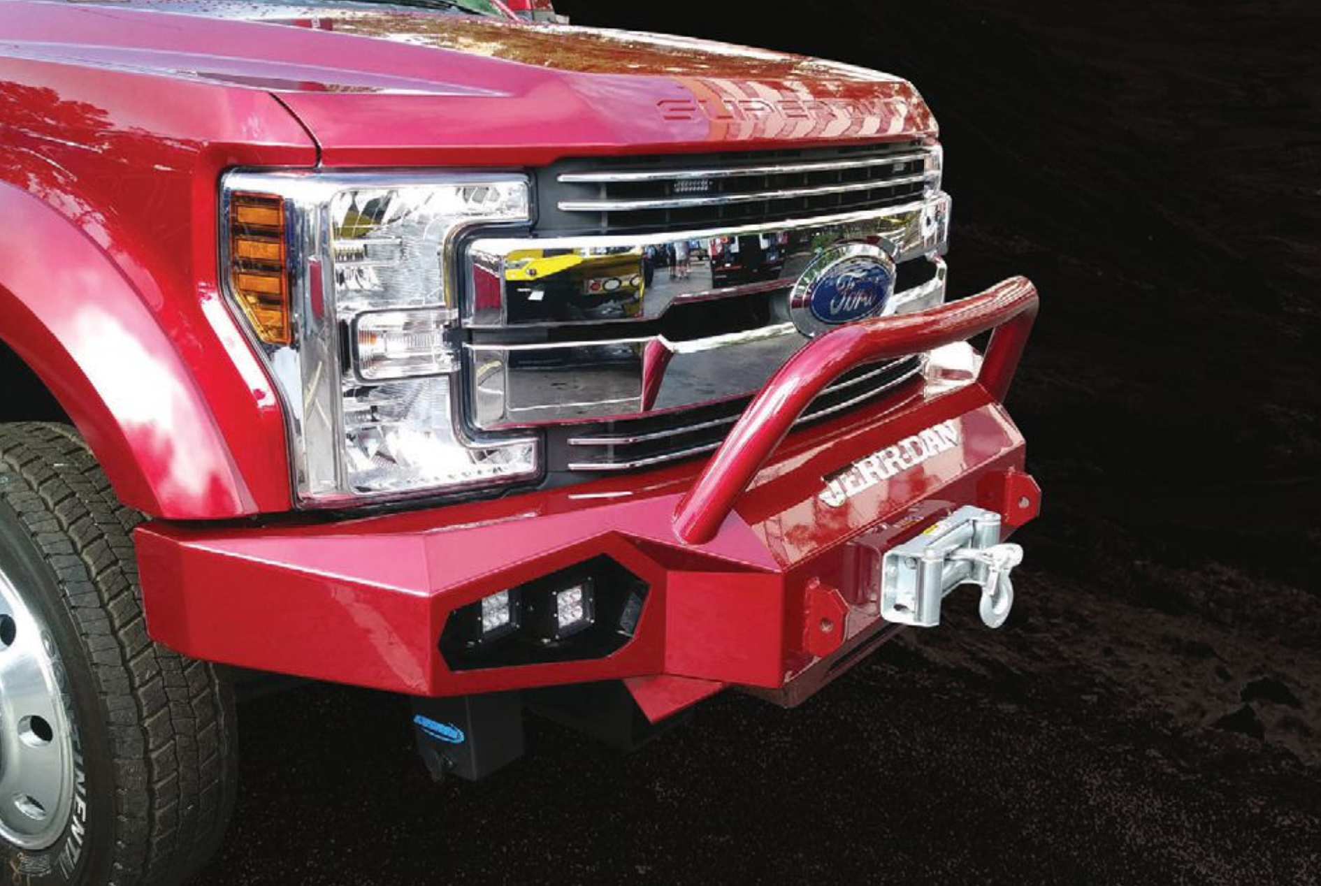 Counterweighted Winch Bumper