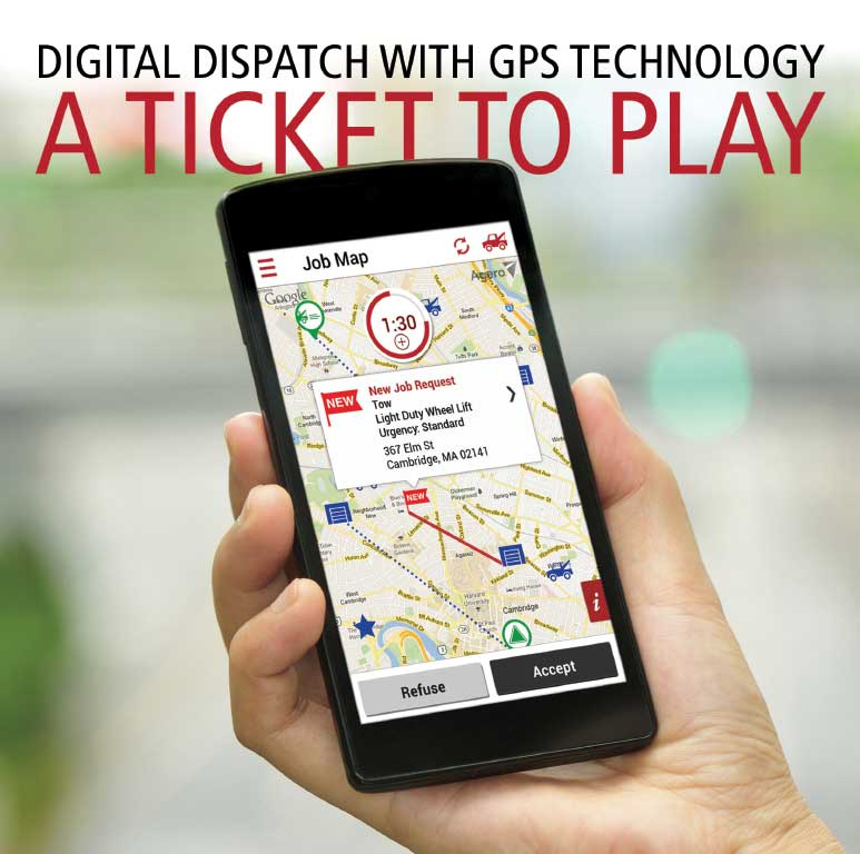 Digital Dispatch with GPS Technology: A Ticket to Play