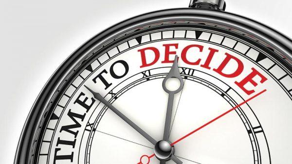 Decisions, Decisions, Decisions