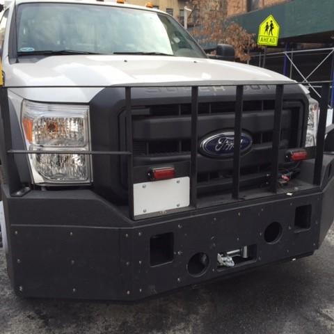 Dynamic Towing Equipment Push Bumper